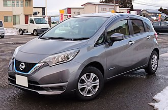 Nissan Note - Nissan Note e-Power, featuring the facelifted design