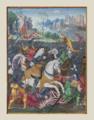 Noël Bellemare.- François Ier chargeant contre les Suisses à Marignan, 14-09-1515.png