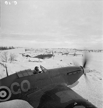No. 151 Wing Royal Air Force Operations in Russia, September-november 1941 CR54