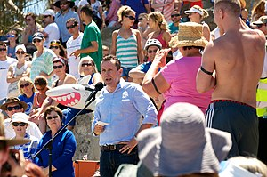 Mark McGowan - McGowan speaking at a rally in 2014.