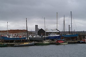 Nobby (boat) - Image: Nobbies in the dock geograph.org.uk 144408