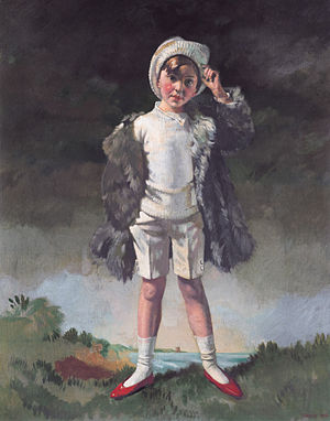 Oliver St. John Gogarty - Noll Gogarty, painted by William Orpen