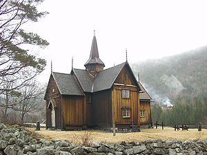 1160s in architecture - Image: Nore stave church