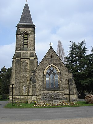 Southern Cemetery, Manchester - North Chapel