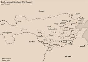 Northern Wei - Wikipedia