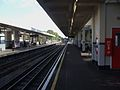 Northfields station platform 2 look east.JPG
