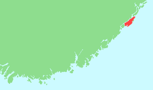 Tromøya - Location in southeastern Norway