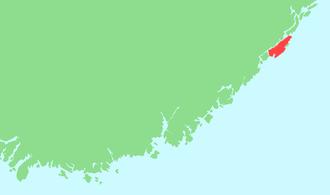 Tromøya - Location in southeastern Norway