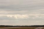Norwgian plane taking off (14520183038).jpg