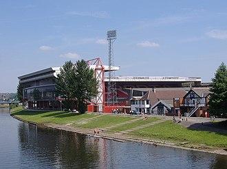 City Ground - Image: Nottingham MMB 15 City Ground