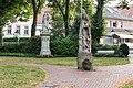 Nottuln, Skulpturen auf dem Kirchplatz -- 2016 -- 3836.jpg