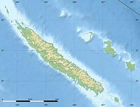 Voir la carte topographique deNouvelle-Calédonie (détail)