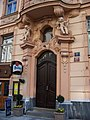 Nové Město, Gorazdova 22, portál.jpg