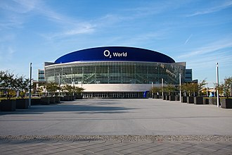 MTV Europe Music Award - O2 World in Berlin, venue in 2009.