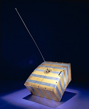 Amateur-satellite service - First amateur-satellite station OSCAR 1, 1961