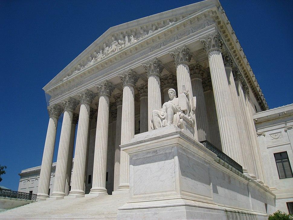 Oblique facade 2, US Supreme Court