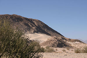 Ocotillo Wells, California - Blowsand is a popular attraction at Ocotillo Wells State Vehicle Recreation Area