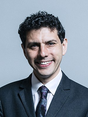 Alex Sobel - Official Parliamentary portrait, June 2017