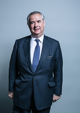 Attorney General for England and Wales - Image: Official portrait of Mr Geoffrey Cox