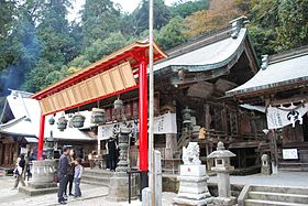 Ohirasan shrine-haiden,tochigi-city,japan.jpg