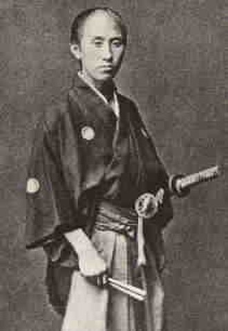 Okita Sōji - This souvenir photo from the Meiji era was often wrongly introduced as the photo of Okita Sōji though the modern times, the person in the photo is actually of a different person. Currently, there are no existing photos of Okita Sōji been rediscovered.