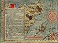 Olaus Magnus' Map of Scandinavia 1539, Section G, Scotland, England.jpg