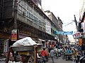 Old Bazaars of Agra, lots of activity and beautiful old buildings, 11-2009 - panoramio.jpg