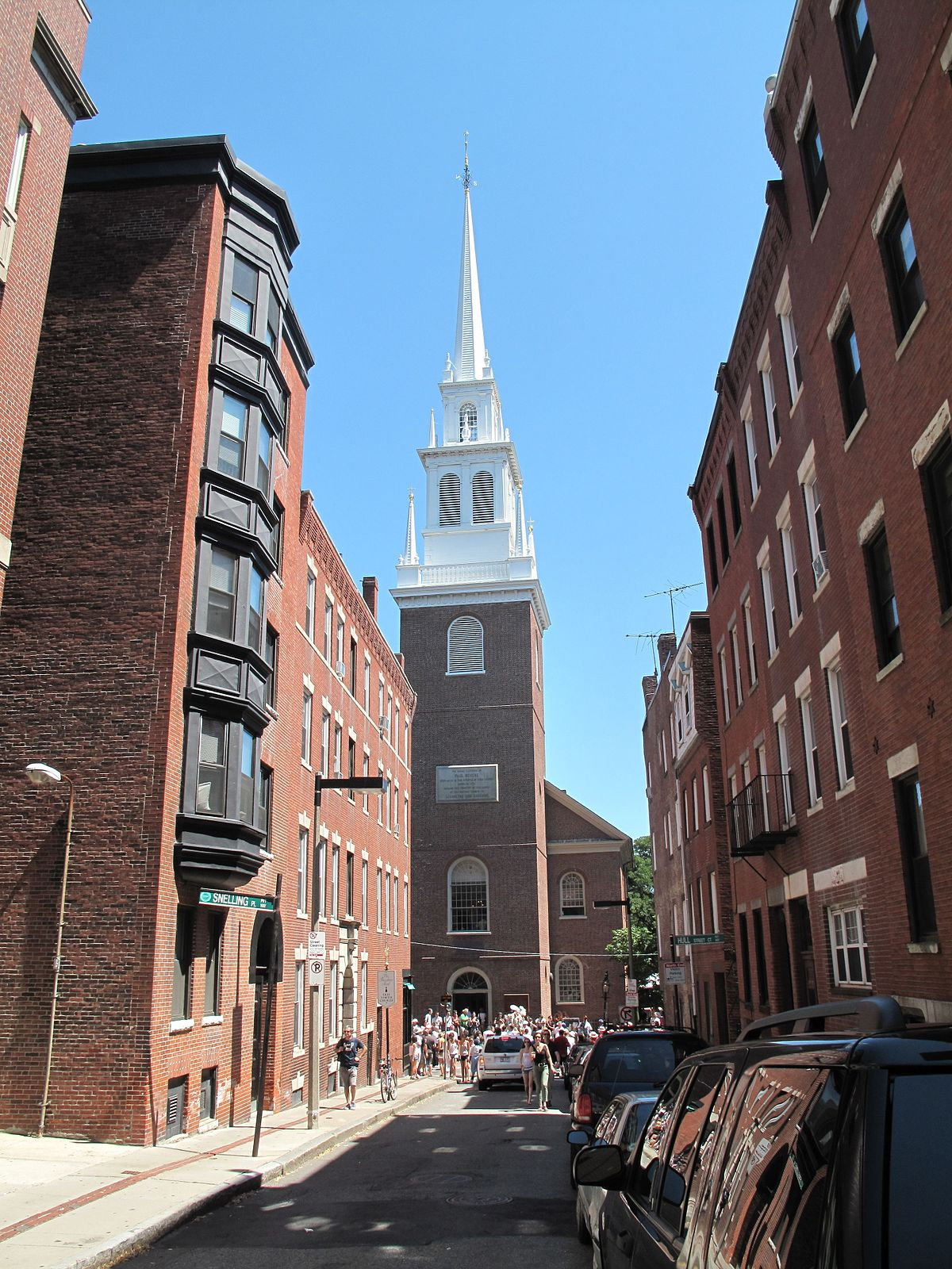 Boston/North End – Travel guide at Wikivoyage