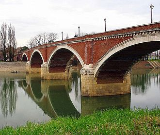 Sisak - Image: Old bridge Sisak