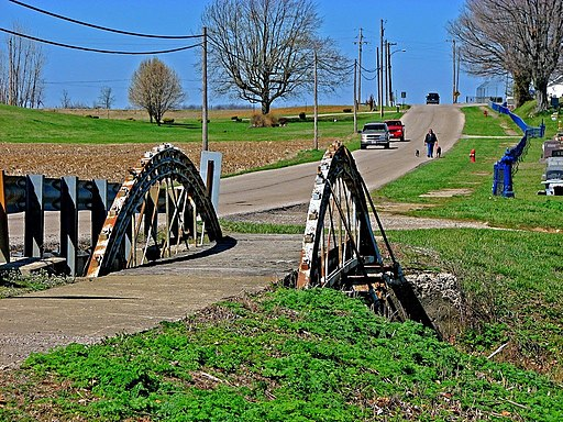 Old bridge at New Holland