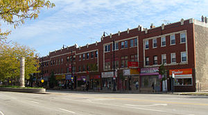 Pui Tak Center - A building was first constructed for the On Leong Chinese Merchants Association along Cermak Avenue in 1912.