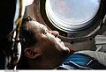 Oleg Skripochka inside Soyuz TMA 01M1.jpg