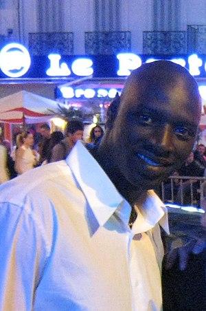 Français : Omar Sy au Festival de Cannes 2007.