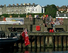 On a sunny day in Bangor..... - geograph.org.uk - 1332186.jpg