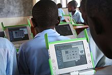 One Laptop per Child at Kagugu Primary School, Kigali, Rwanda-19Sept2009.jpg