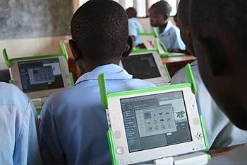 English: One Laptop per Child at Kagugu Primar...