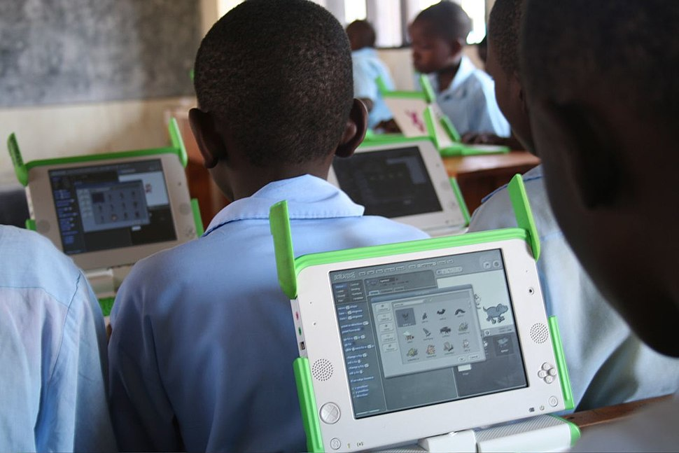 One Laptop per Child at Kagugu Primary School, Kigali, Rwanda-19Sept2009