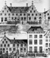 Oostindisch Huis of the VOC Chamber of Delft before and after the reconstruction of 1722.png
