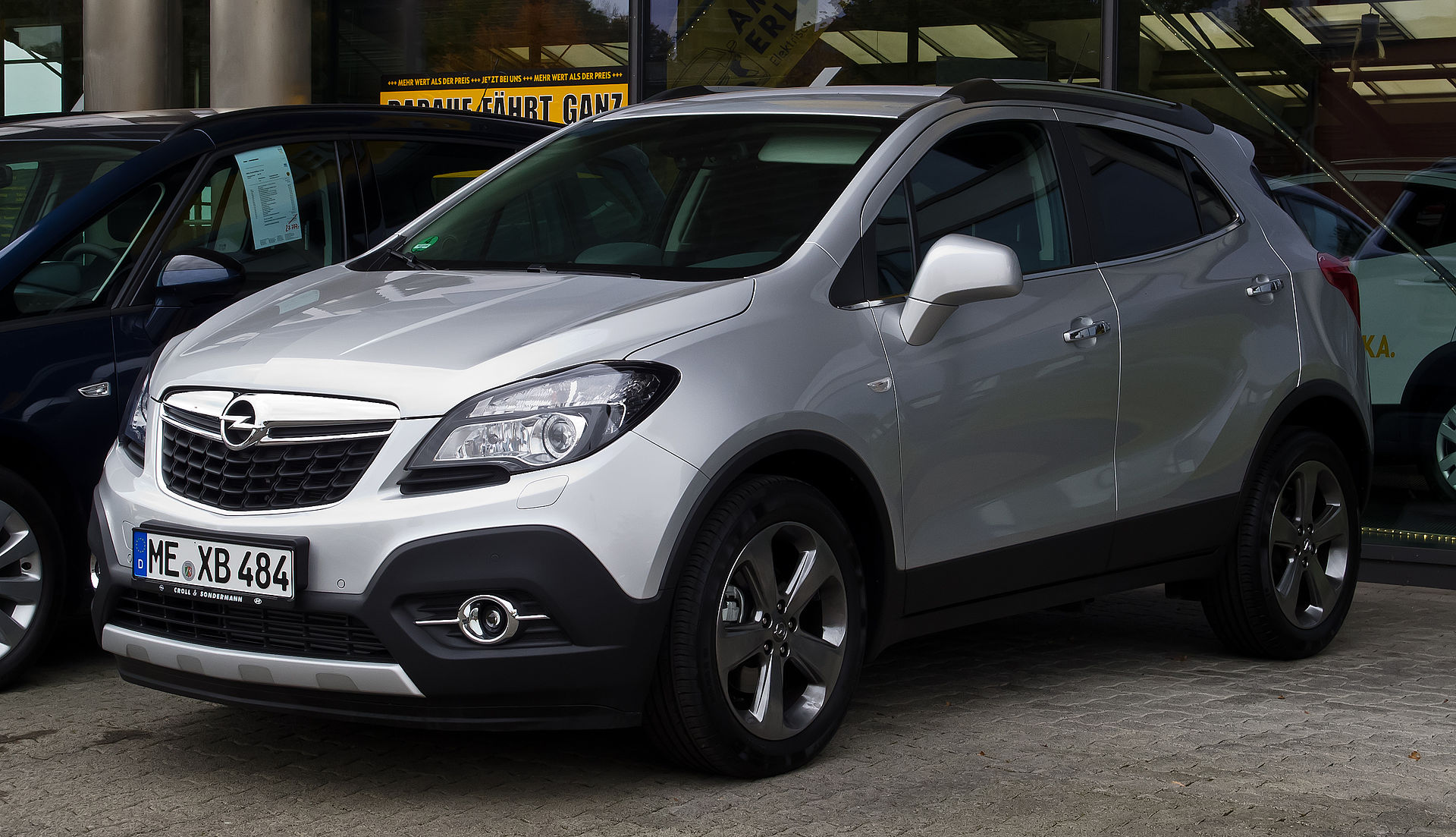 Citroen C4 Cactus Wiki >> Opel Mokka - Wikipedia