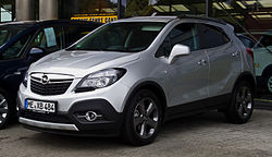 Opel Mokka Simple English Wikipedia The Free Encyclopedia