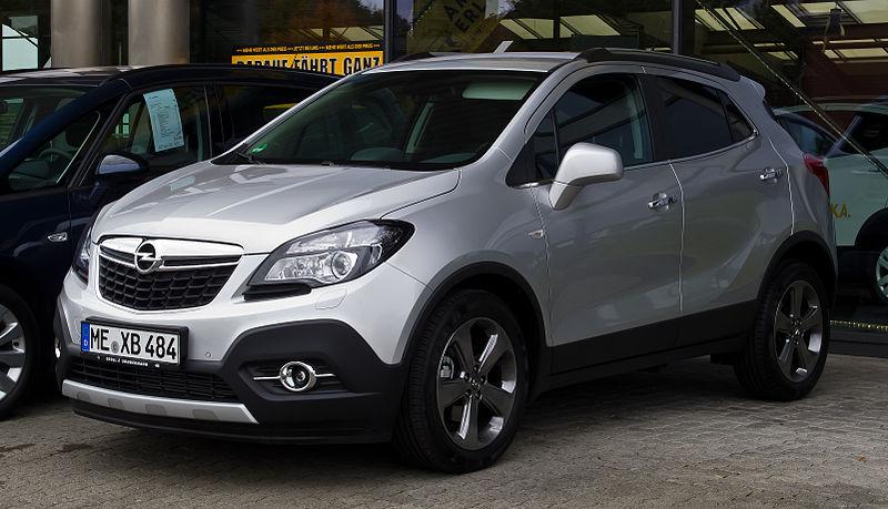 File:Opel Mokka 1.4 Turbo ecoFLEX Innovation – Frontansicht, 20. Oktober 2012, Heiligenhaus.jpg