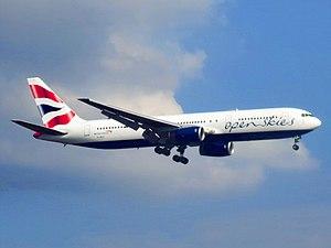 OpenSkies - OpenSkies Boeing 767-300ER