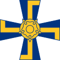 Order of the Cross of Liberty of Finland (simplified).svg