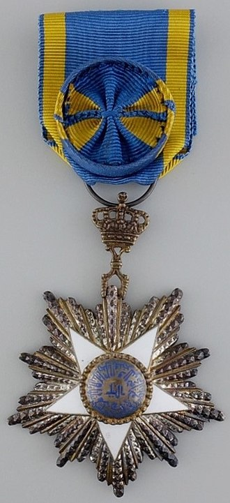 Order of the Nile - Image: Order of the Nile, 4th class