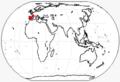 Oriomeryx range.png