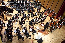 Orchestra - Wikipedia, the free encyclopedia
