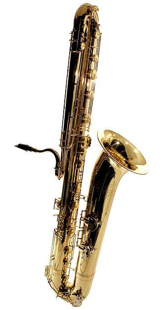 Contrabass saxophone - Image: Orsi Contrabass Saxophone (1999)