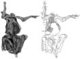 Osborn 1912 amnh5060 skeletal outline.png