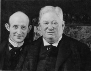 Oscar Baeckström, 1854-1919, Victor Lundberg, 1859-1939