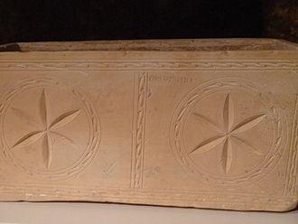 Talpiot Tomb - Ossuary of Judah son of Jesus. The Israel Museum, Jerusalem.